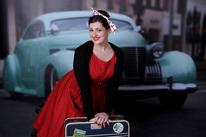 Peggy sue pin up Photography 1